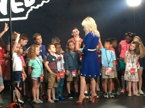 Behind the Scenes Dollywood commercial