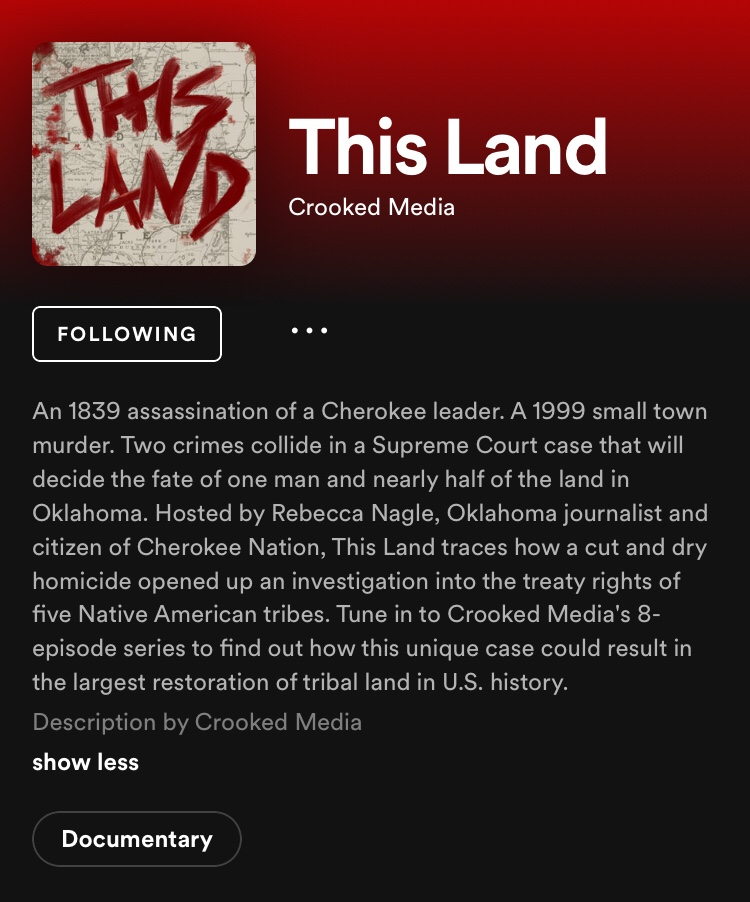 Podcast Review: This Land